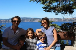 Family Crater Lake