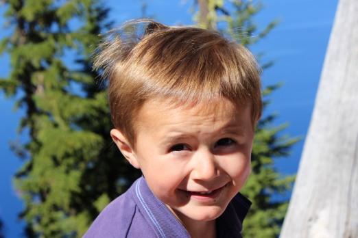 Max à Crater Lake
