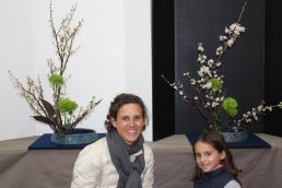 Ikebana, Aude et Candice