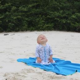 12 - Emile aime la plage, 9 mois et demi