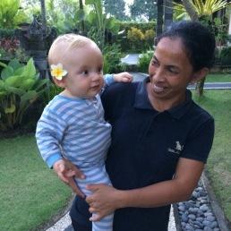 17 - Emile à Bali, 11 mois