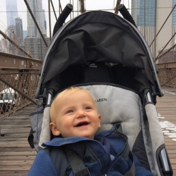 18 - Emile a 1 an à NYC